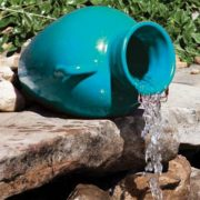 Oase Turquoise Pouring Vase Spitter -2