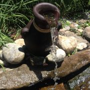 Leaning Vase Fountain – 3
