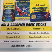 Tropical Koi Goldfish Basic Sticks 3