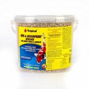 Tropical Koi Goldfish Wheat Germ Garlic Bucket